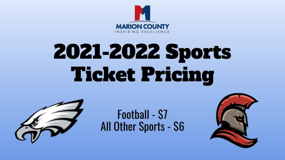 Pricing for sporting events.