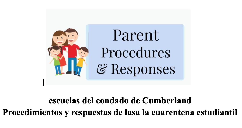 Parent Procedures & Responses - Spanish