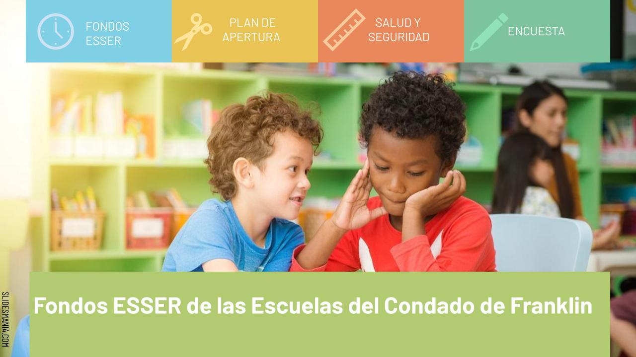 ESSER Spanish