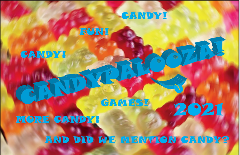 candy with words on it