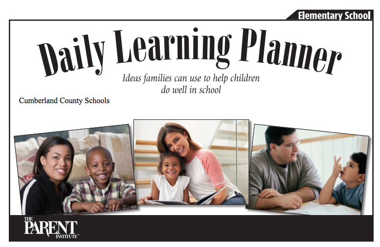 Daily Learning Planner - English
