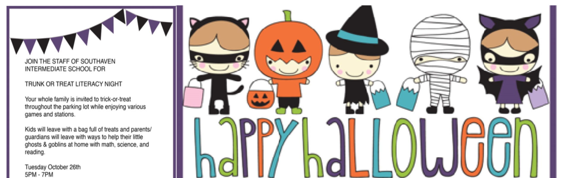 Trunk or Treat Oct. 26