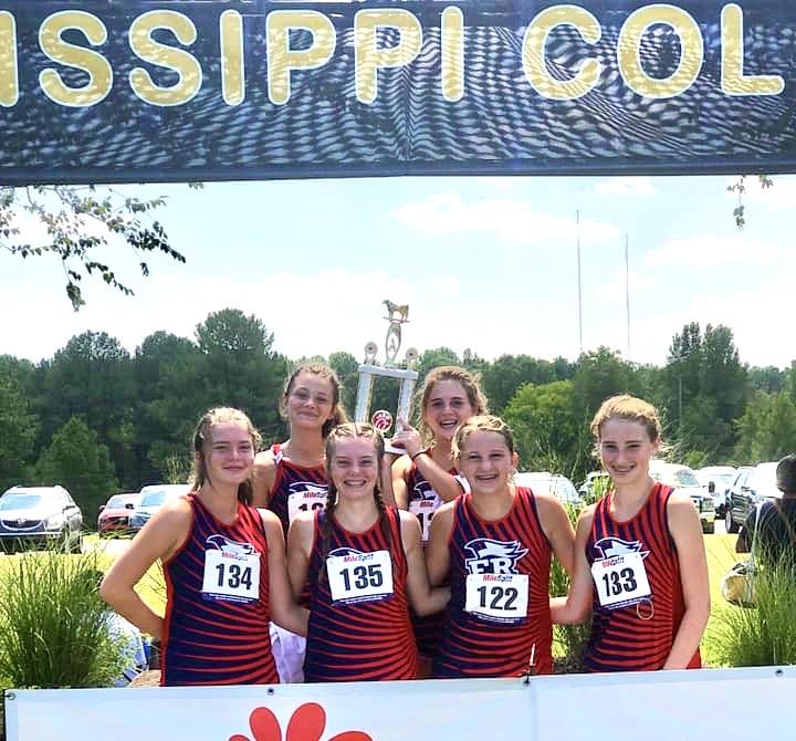 JV Girls Cross Country Champions