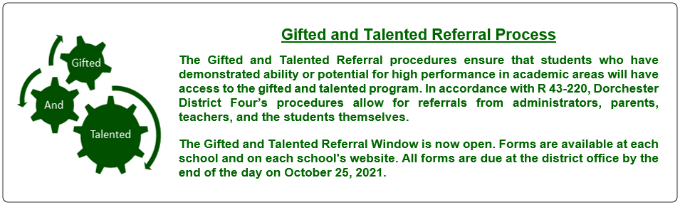 Gifted and Talented Program Process