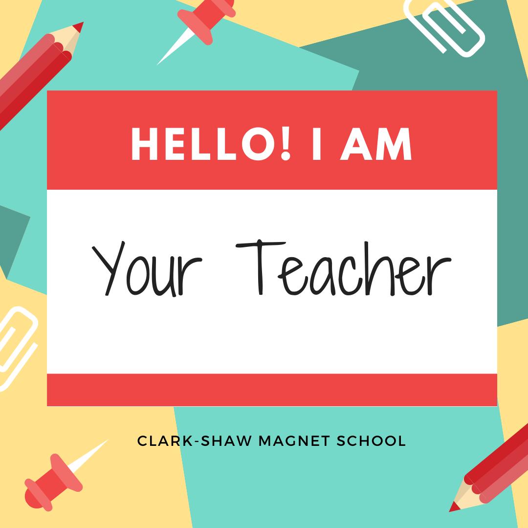 Teacher nametag image