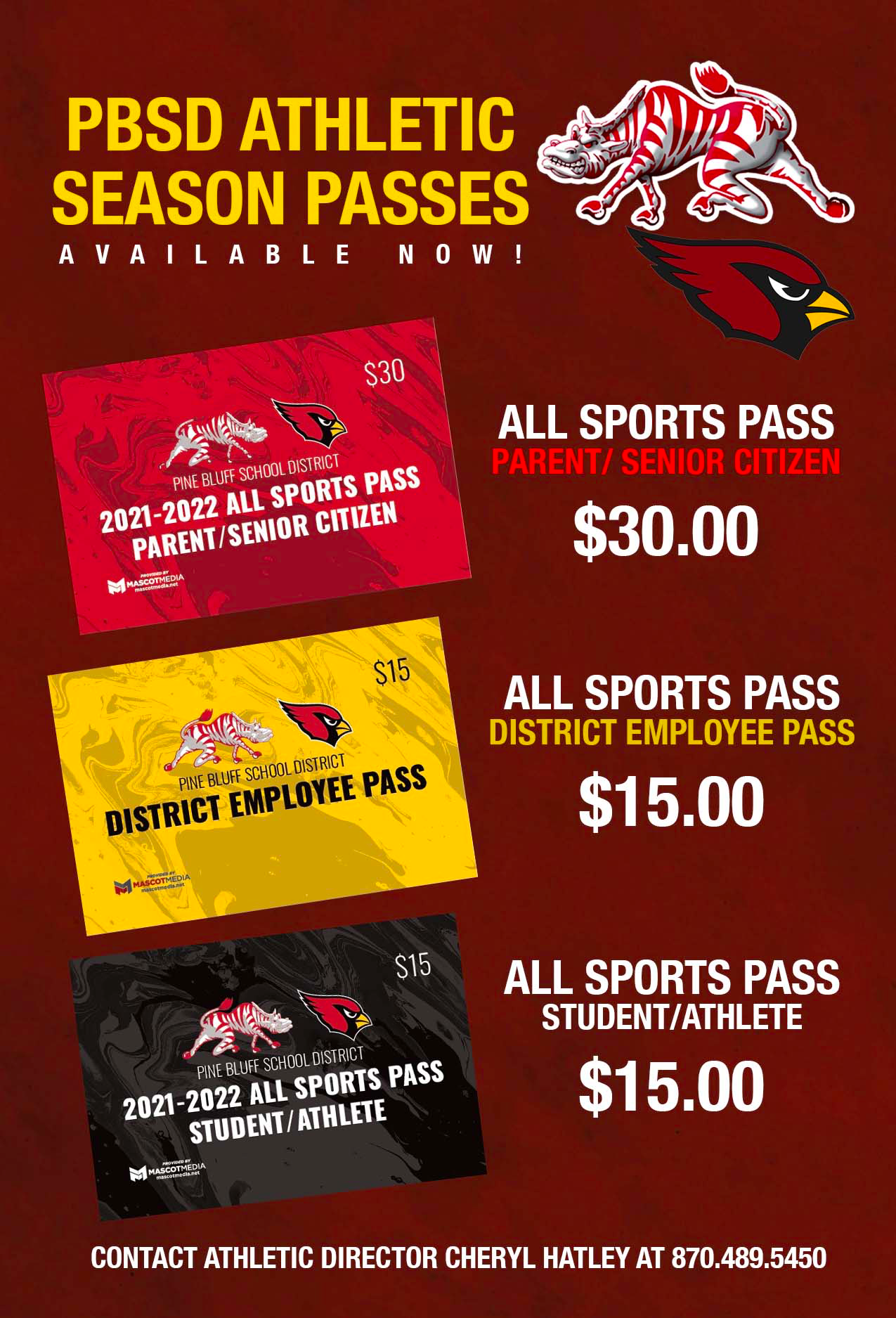 PBSD Athletic Pass