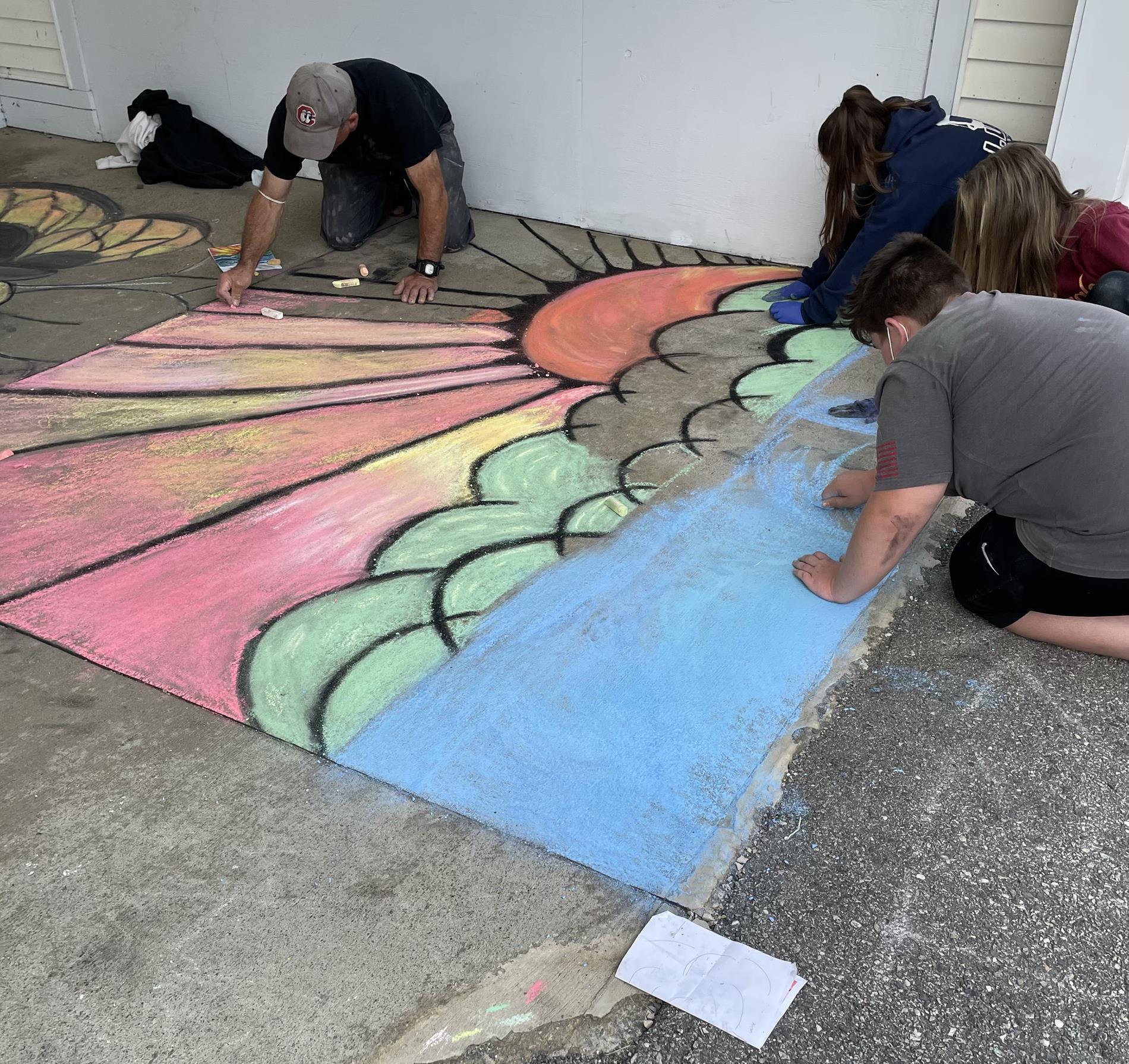 Chalk in Art