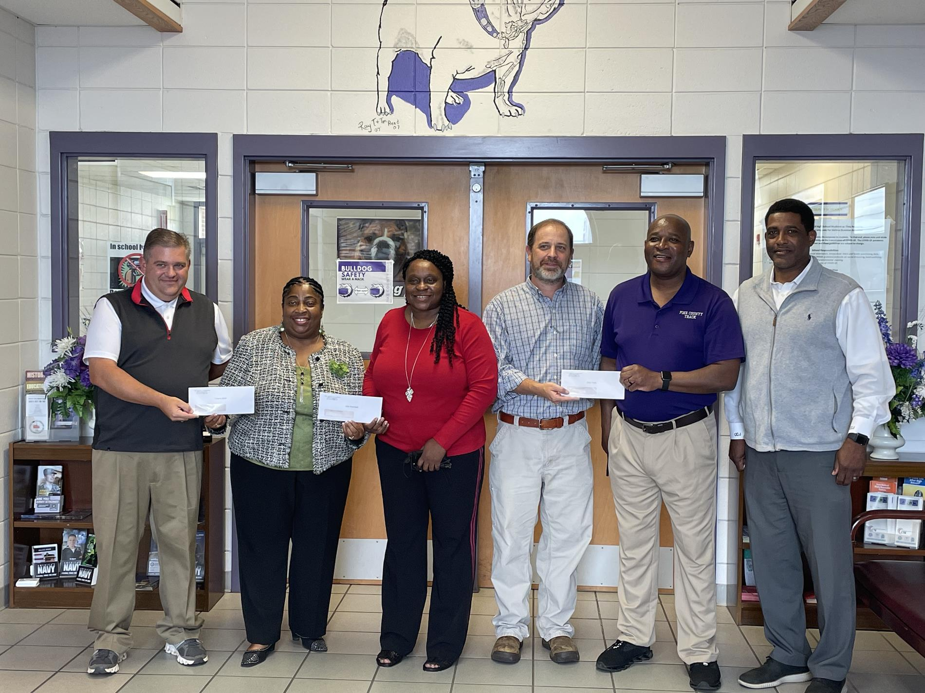 County Commissioners make donation