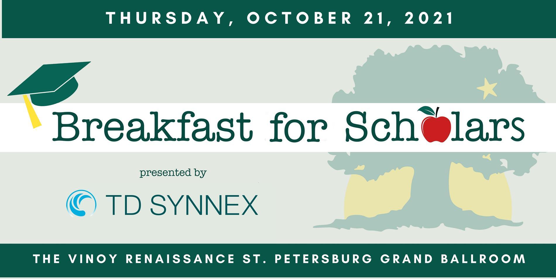 Event Logo for Breakfast for Scholars