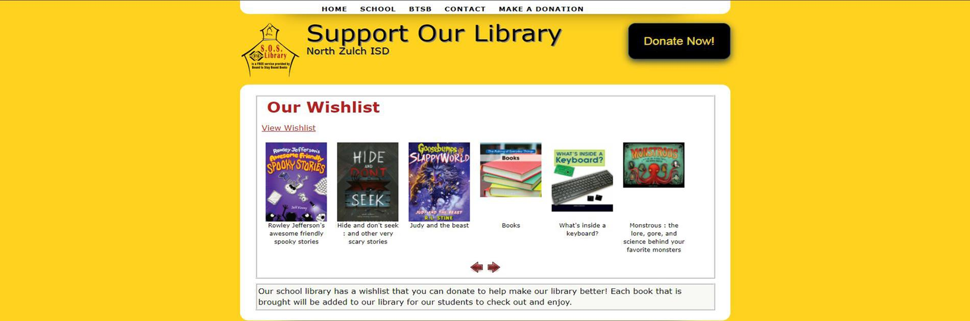 Support Our Library