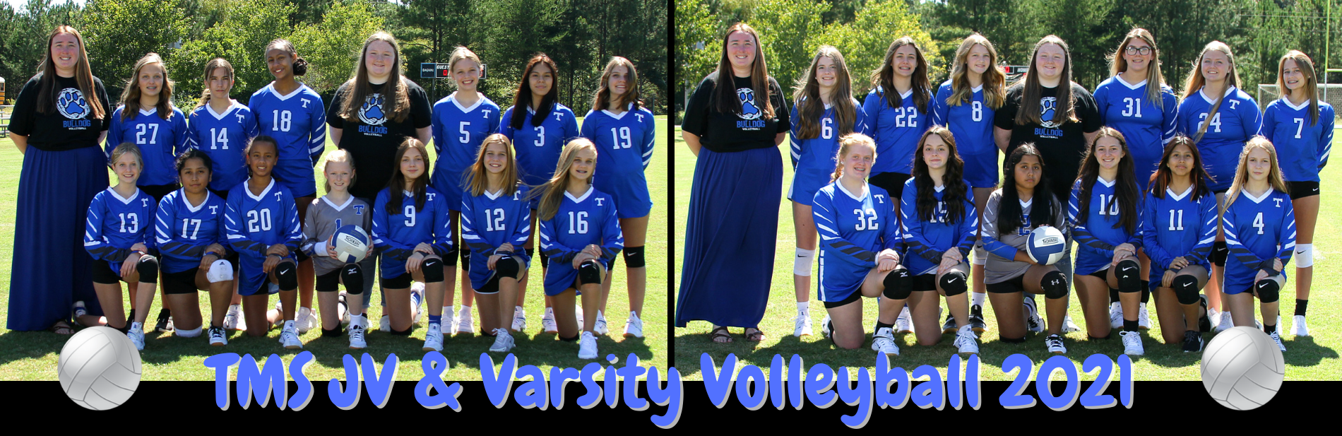 Slide 4: Volleyball Team Picture