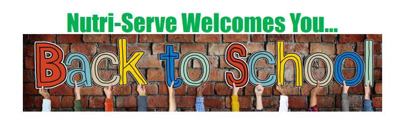 Nutri-Serve Welcomes You Back to School-Video