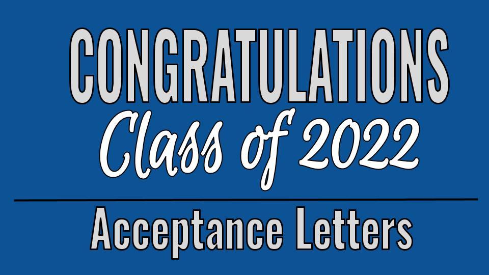 Congratulations Class of 2022
