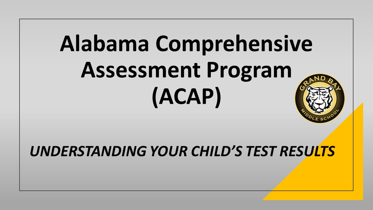Alabama Comprehensive Assessment Program (ACAP)
