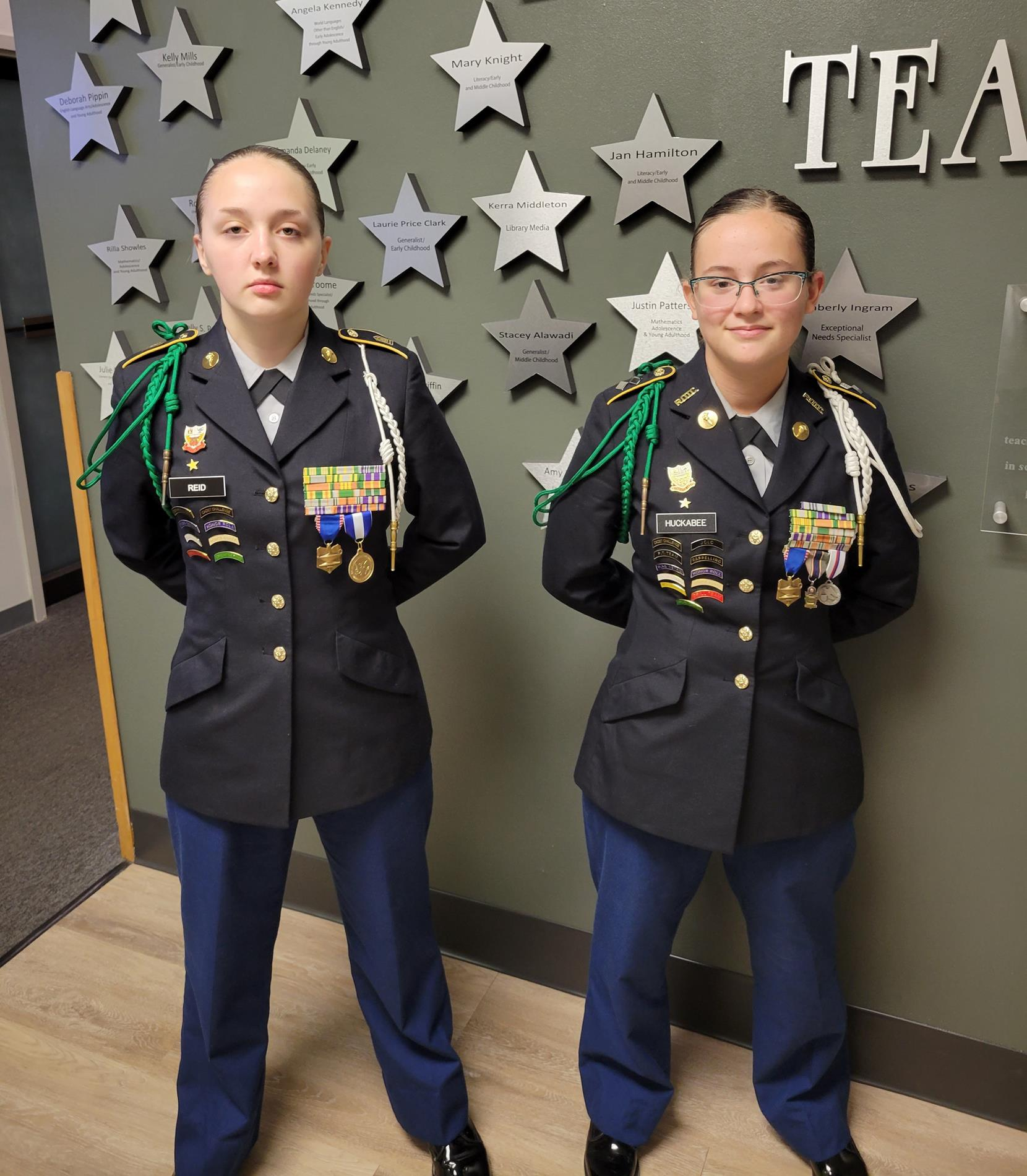 CHS JROTC Cadets