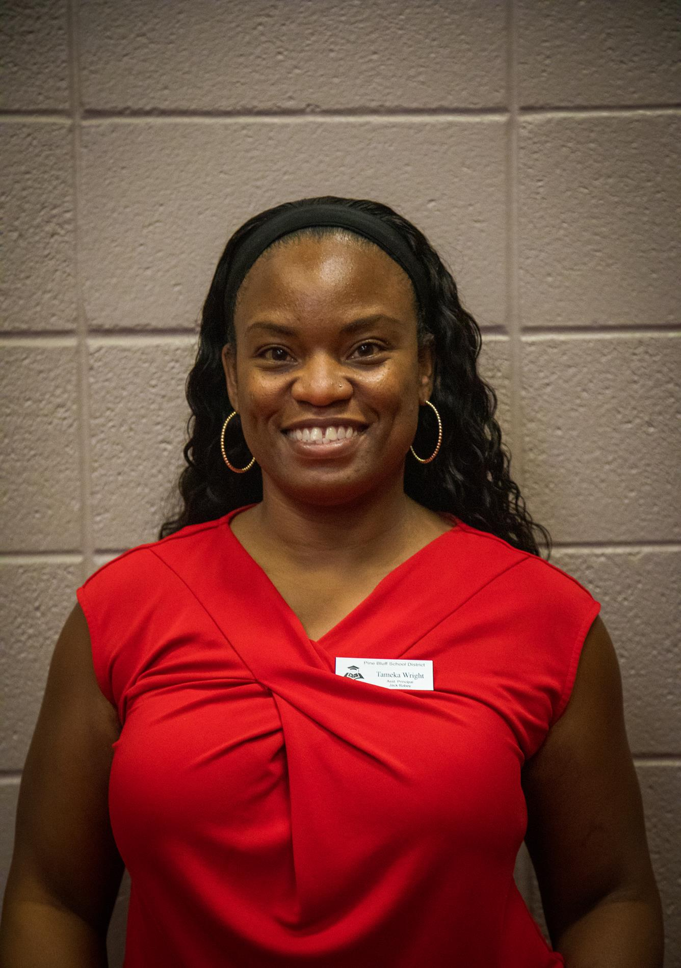 Tamika Wright, Principal