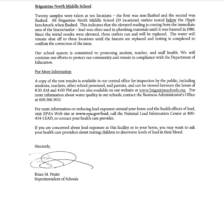 Lead Testing Letter p.2