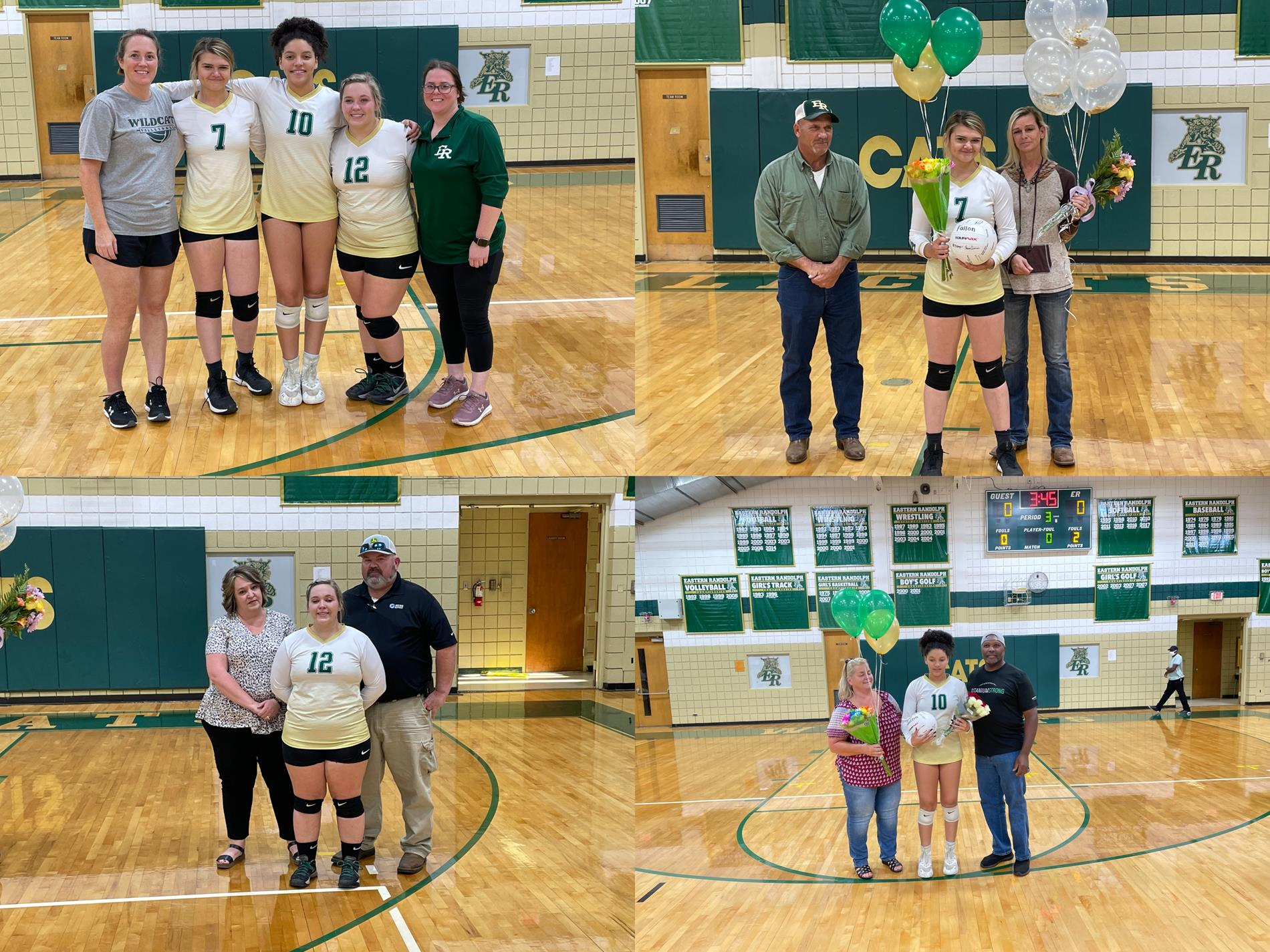 Volleyball Senior Nigh