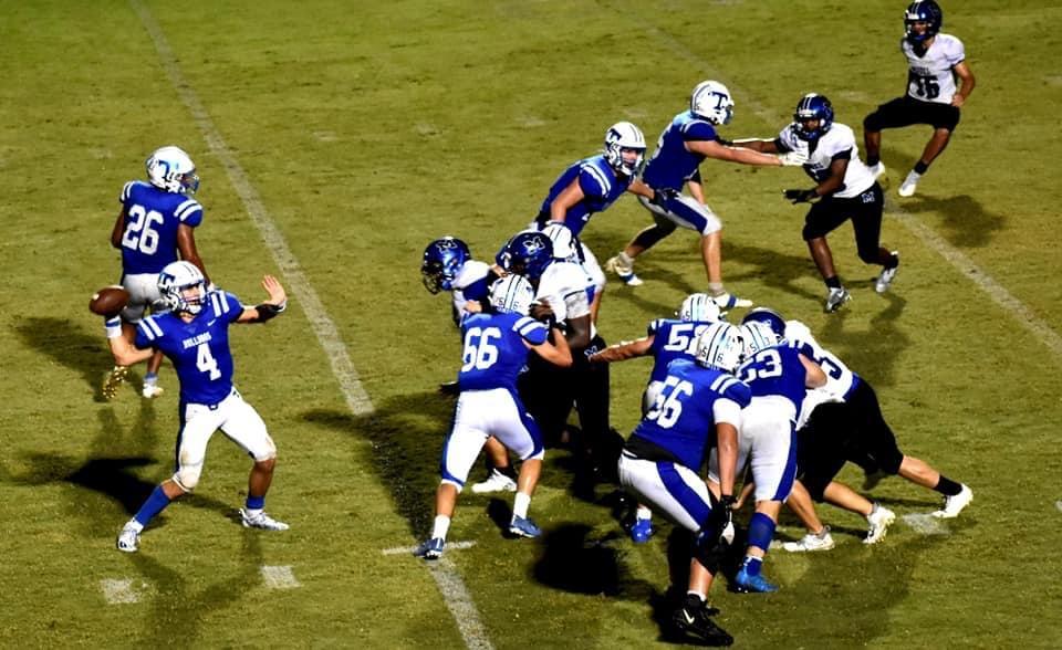 Bulldogs Blast the Blue Devils
