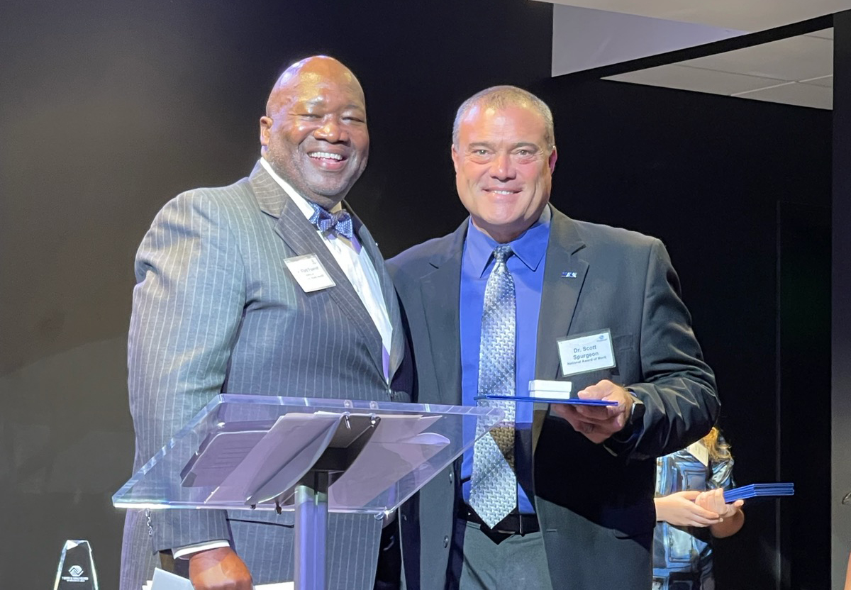 Dr. Spurgeon receives National Award of Merit from Boys & Girls Clubs