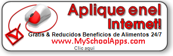 Free and Reduced Lunch Application in Spanish
