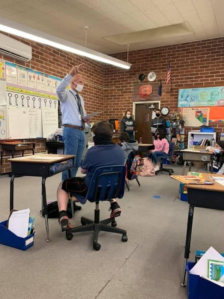 Jabberwocky in Mrs. Walker's class