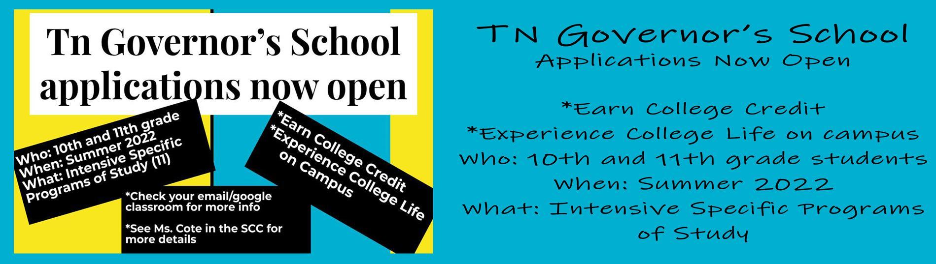 TN Governor's School