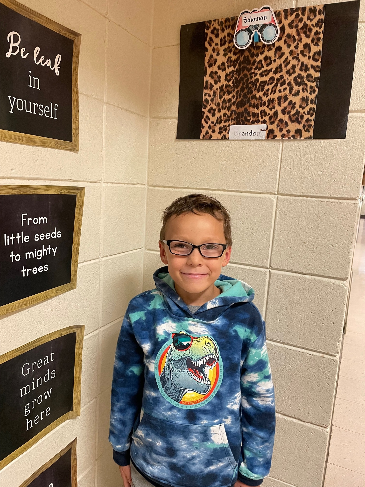 Solomon Ray Student of the Week