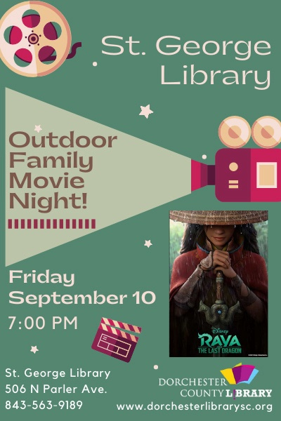 County Library Movie Night