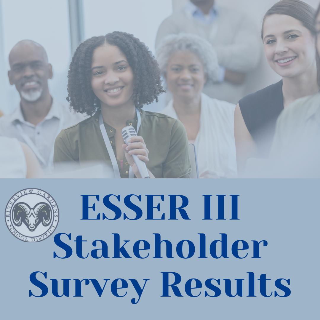 ESSER III Survey Results