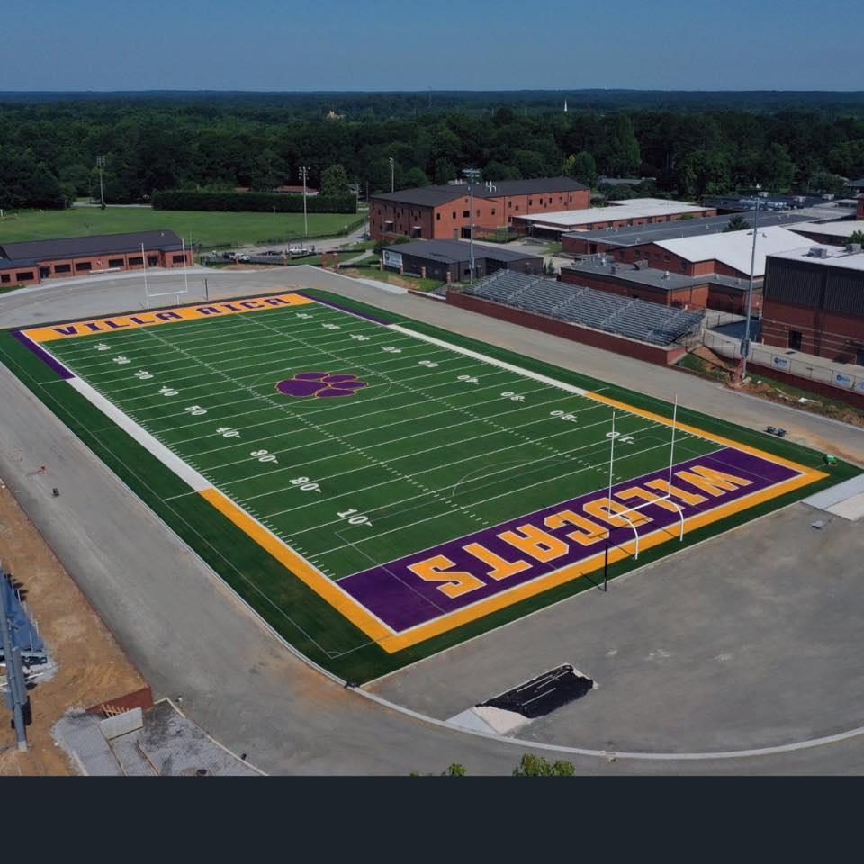 stadium aerial