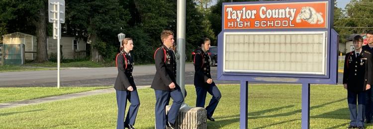 Members of Flag Guard