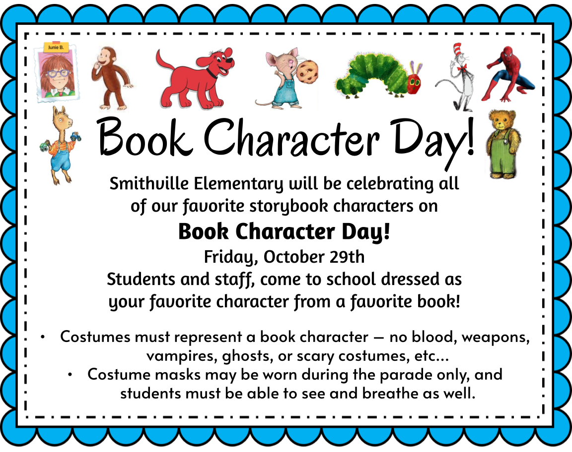 book character day information
