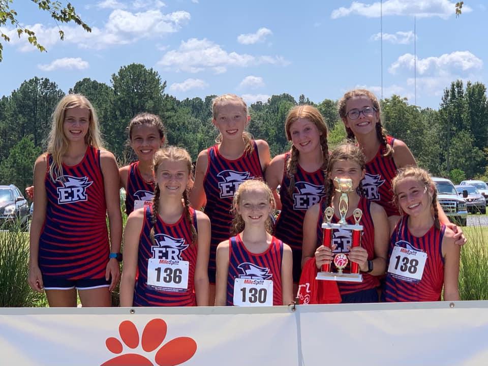ERA Cross Country Varsity Girls Champions