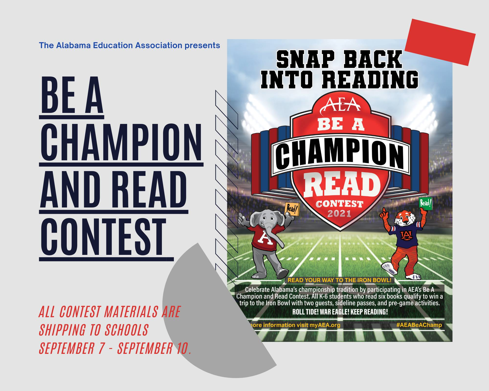 Be A Champion and READ!