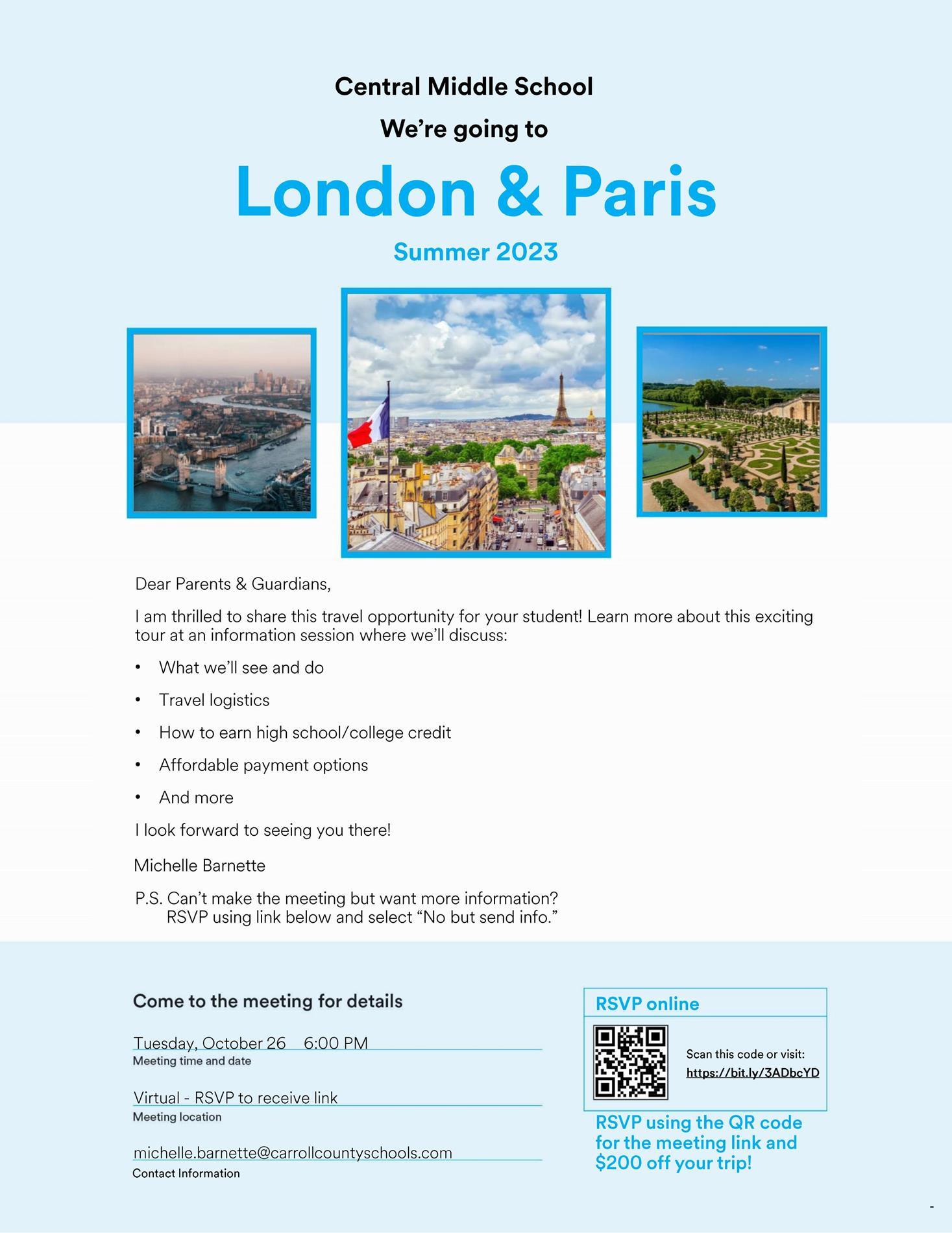 London and Paris Flyer