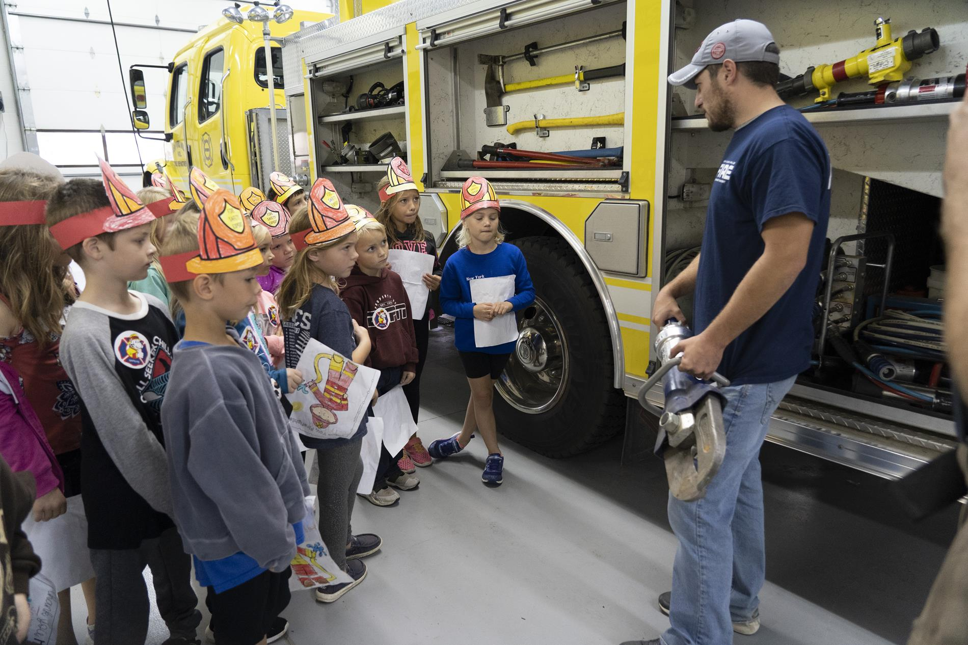 field trip to the fire hall