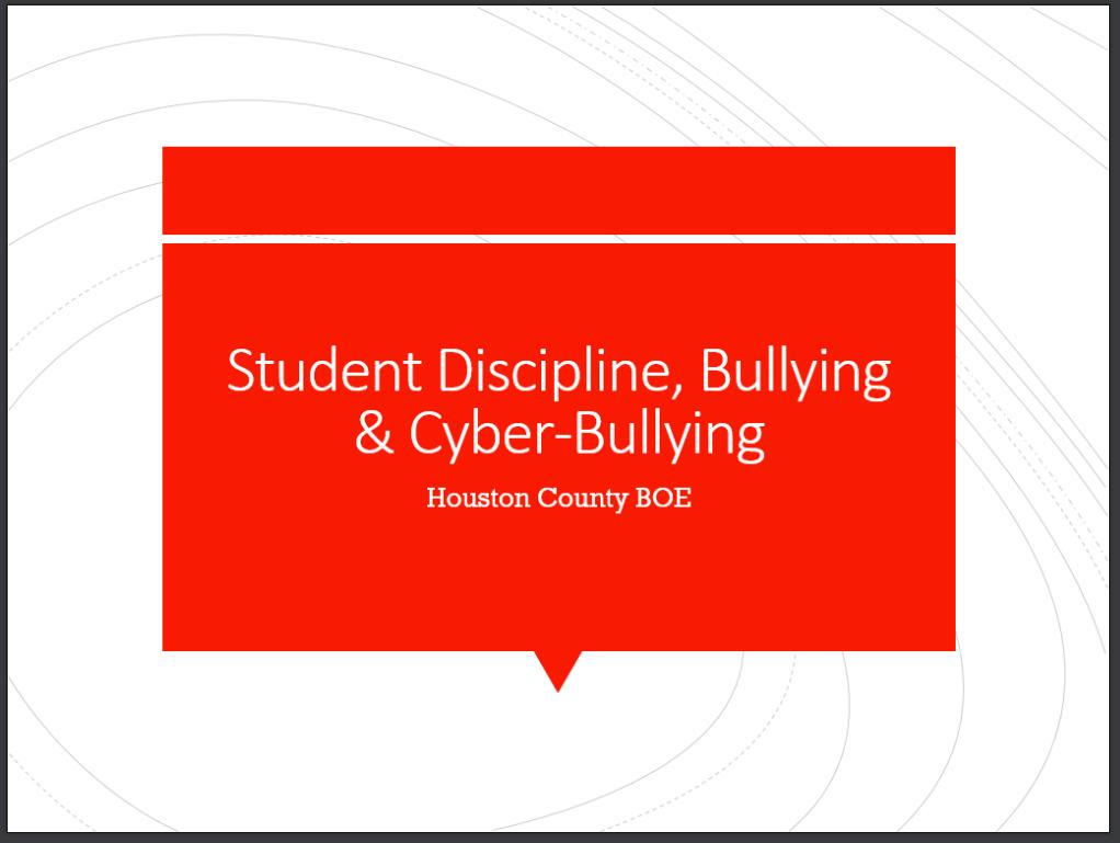 HCBE Bullying PowerPoint