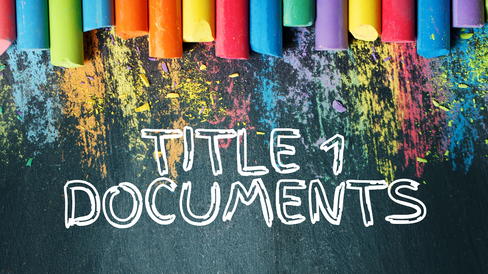 Title 1 Documents Banner