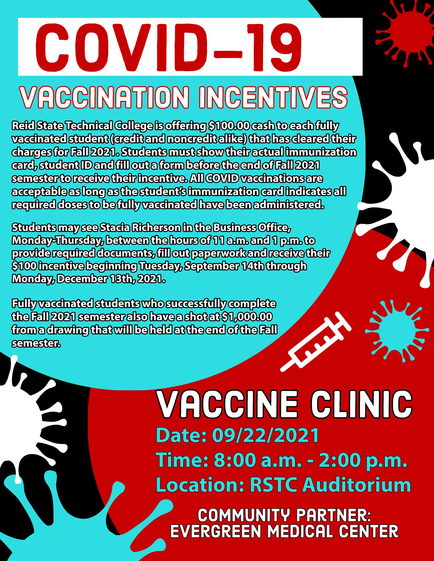 Vaccine Incentive