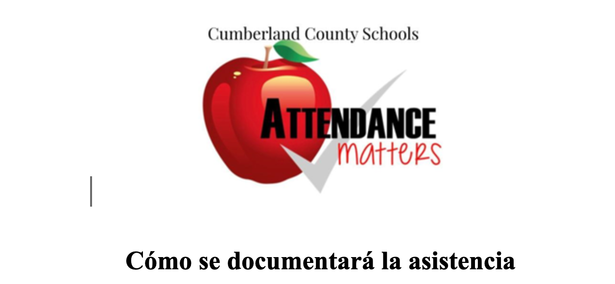 How Attendance Will Be Documented - Spanish