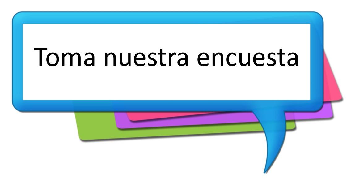 LInk to take survey in Spanish