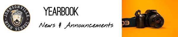 Senior Yearbook Announcement