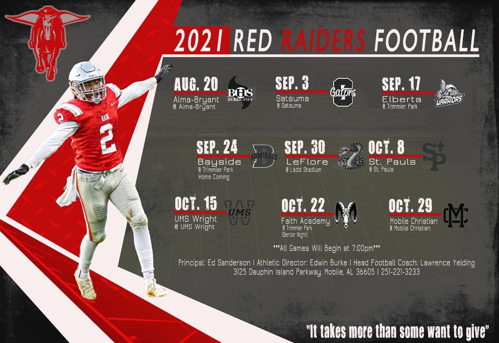 football schedule 2021