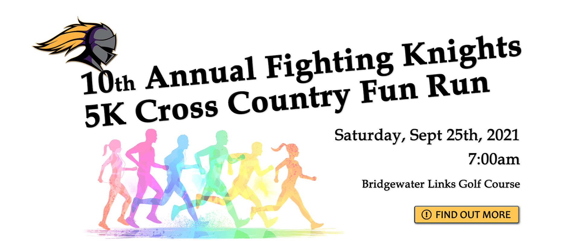 banner ad for Cross Country Fun Run