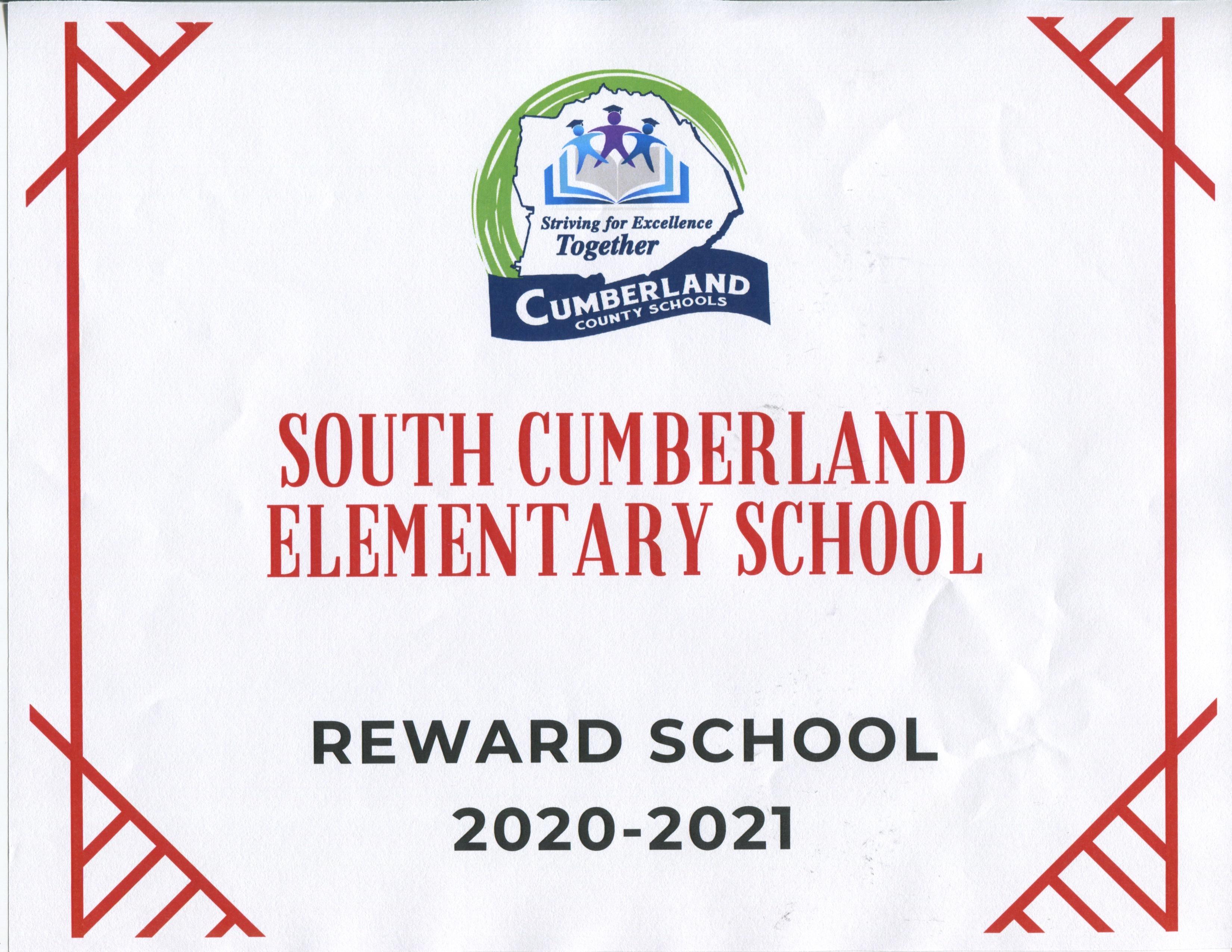 South Elementary Reward School