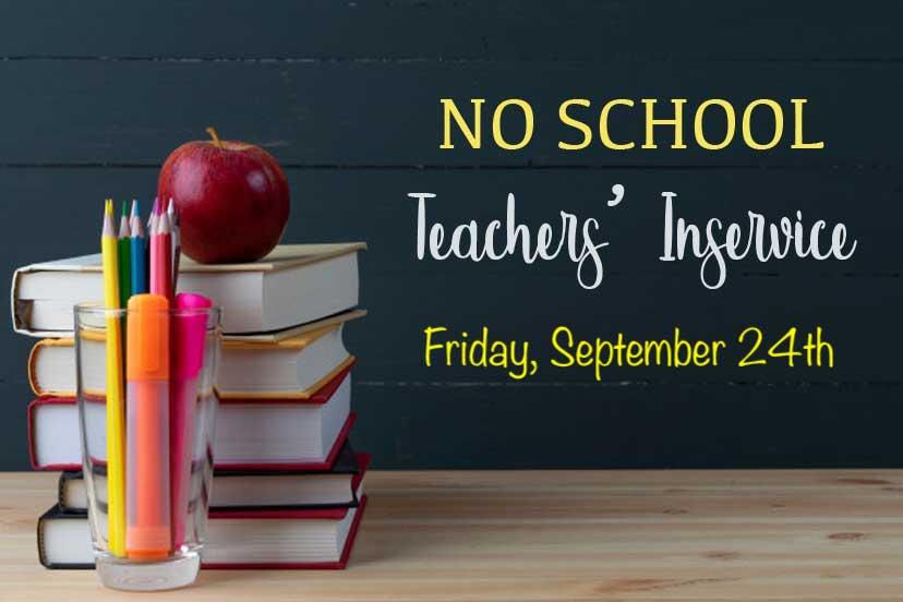 Teacher Inservice No School