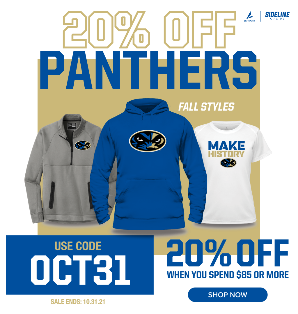 Panthers Sideline Store
