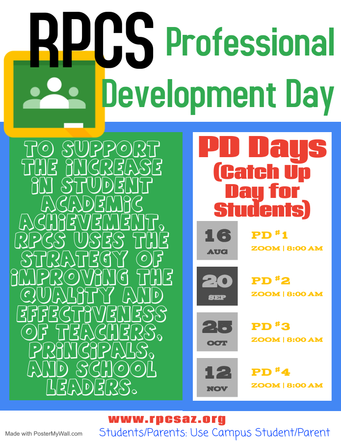 Image of PD Day flyer