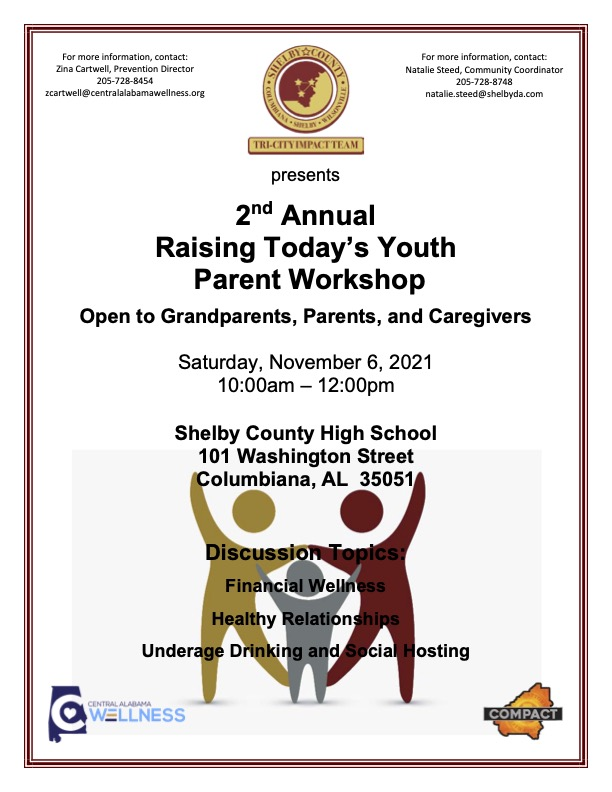2nd Annual Raising Today's Youth Parent Workshop